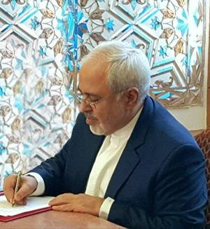 Zarif: Iran calls for promotion of dialogue with neighboring states