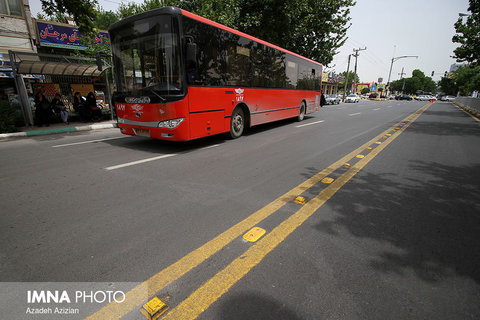 Another BRT line launched/ Isfahan