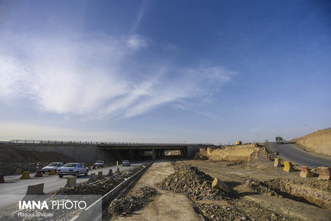 """Ashkavand"" non-level intersection reaching final stages of construction"