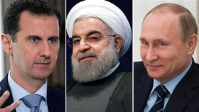 Russia, Syria leaders congratulate Iran's Rouhani on landslide reelection