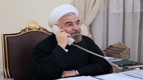 Iran, France stress expansion of ties in Rouhani's 2nd term