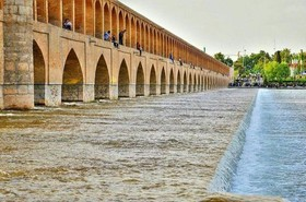 Zayandeh-Rood River stops flowing at June 9
