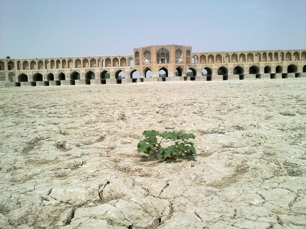 Revive the Zayandeh-Rood River to prevent land subsidence in Isfahan
