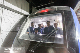 Final test for phase 3 of metro line 1/ Isfahan mayor