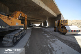 Isfahan mayor visits the growing process of Shahid-Balaei non-level interchange