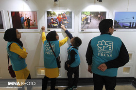 Opening of exhibition for advertising posters of 30th ICFF