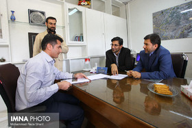Isfahan mayor at public meeting with residents of district 15/ Isfahan