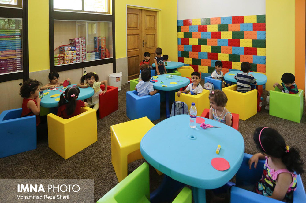 Professional Children's Creativity Center equipped