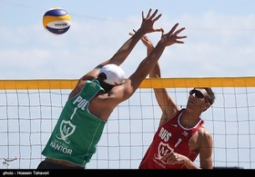 Iran Wins Bronze at FIVB Beach Volleyball World Tour