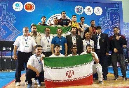 Iranian weightlifters top in Asian champs