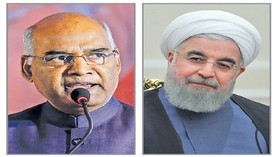 Rouhani congratulates Indian counterpart for his election