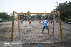 Iranian National Beach Handball