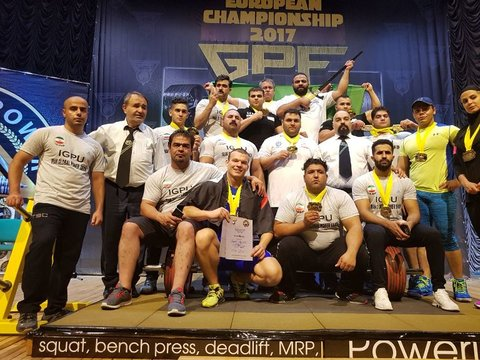 Iran's powerlifting
