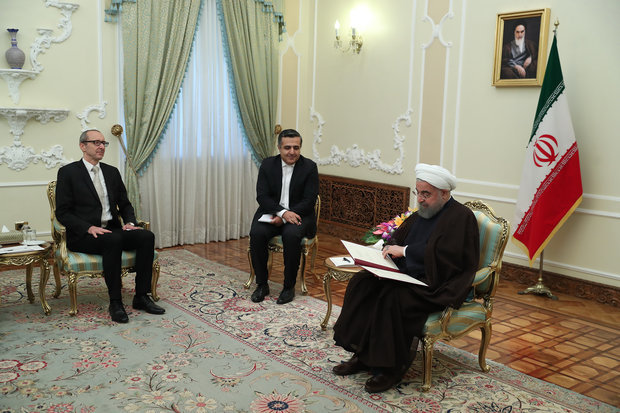 Rouhani calls for closer ties with Austria, France, Serbia, Uruguay