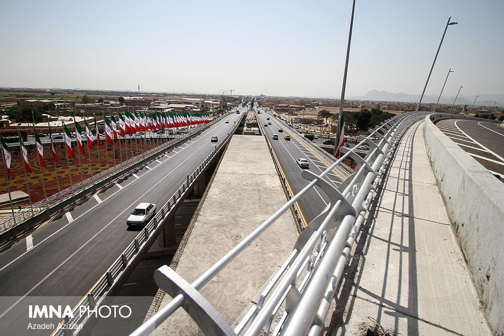 Isteqlal square and overpasses unveiled