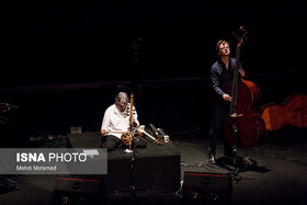 Iranian Keyhan Kalhor performs with Rembrandt Trio's band