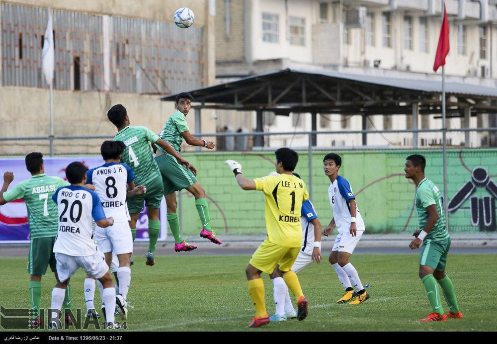 Iranian team ranks 1st in Asian Student Football Champs