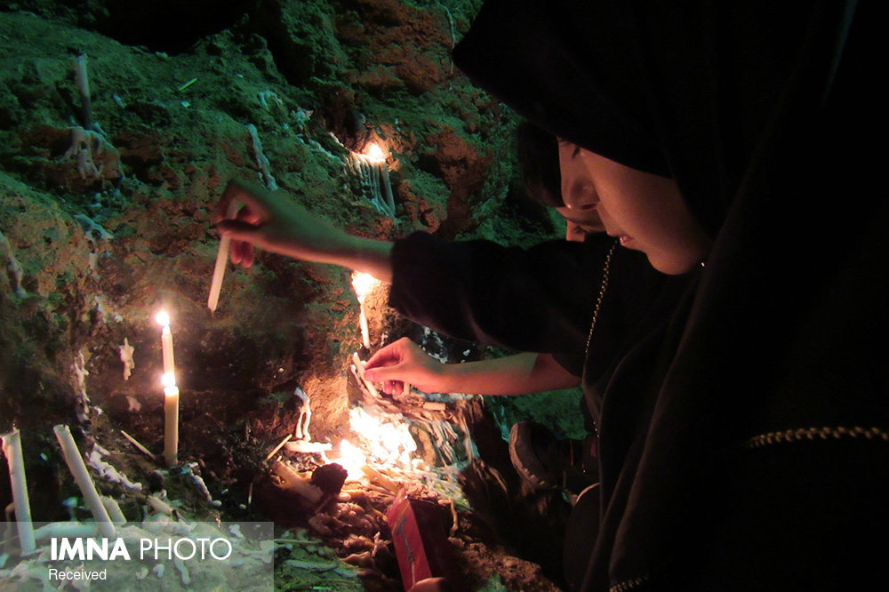 Ashura evening ceremony (Sham-e Ghariban) in Semirom, Isfahan
