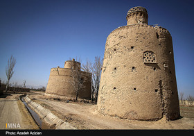 Pigeon Tower in Dorcheh, Isfahan Province