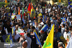 Isfahan people's rally to condemn Trump's nonsense against Iran