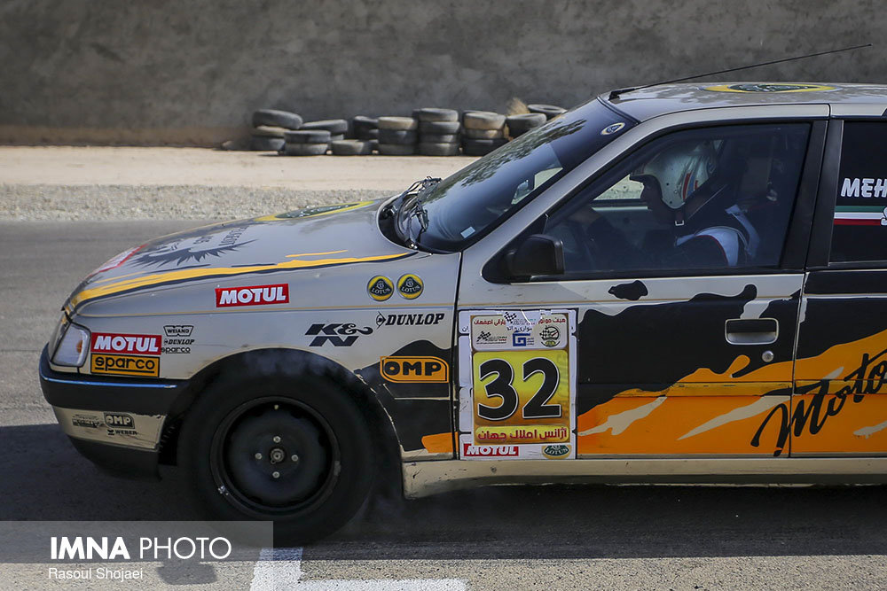 2nd round of Isfahan Motor Club Speed Championship
