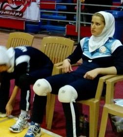 Interview with Samira Imani Fouladi, Iran's women's national volleyball team