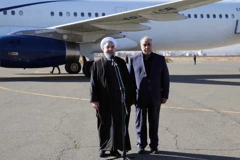 Iran president to vow support for quake victims