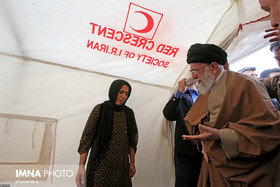 Supreme Leader visits earthquake-hit Kermanshah