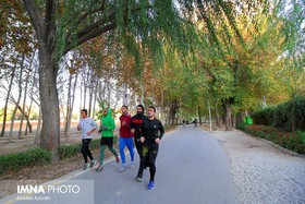 Isfahan's Beauties in Photos: Najvan Forest Park