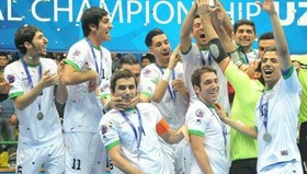 Four-Nation Futsal Tournament in Isfahan