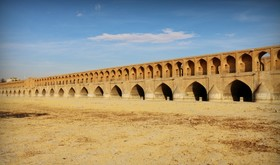 Bone-dry Zayandehrood River damaged Isfahan identity