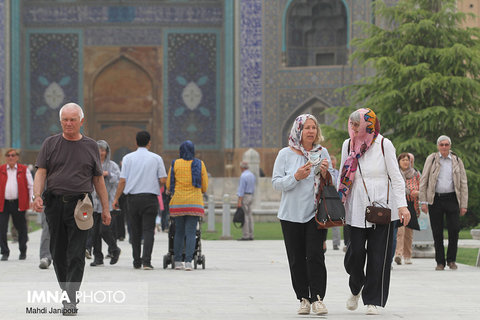 Tourists notes about every corner of Isfahan