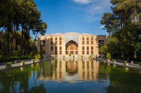 Iranian Gardens; combination of architecture and nature beauty