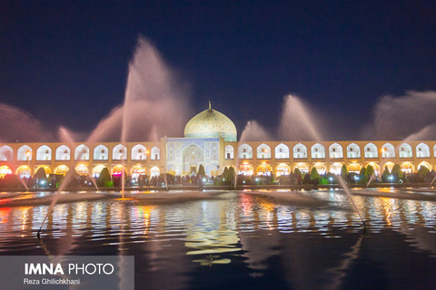 Naqsh-e Jahan Square surprises me every time