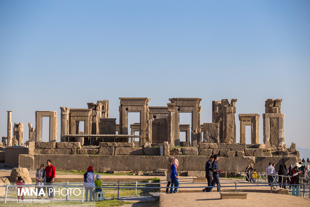 Persepolis under Restoration by Archaeologists Without Borders