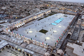 Isfahani citizens arrive to witness  huge changes in Imam Ali square