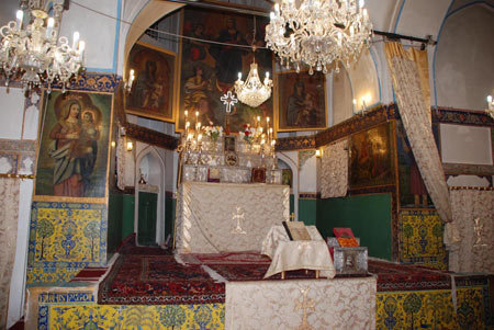 Hagop; oldest church in Isfahan