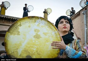 Daf؛ most popular musical instrument among Iranian women