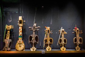 Ghaychak; popular musical instrument in Iran and Afghanistan