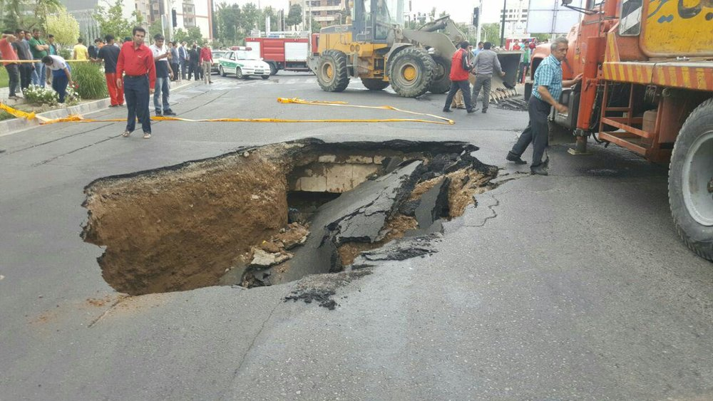 Land subsidence threatening Isfahan's underground projects