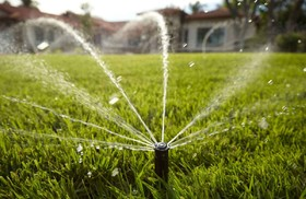 Wastewater suitable to irrigate green space