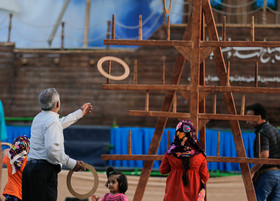 Wooden mega-games to stimulate Isfahani citizen's creativity
