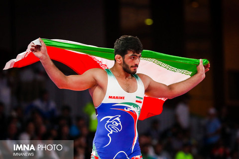 Iranian wrestlers bring home gold medals