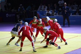 Iran's men and woman Kabaddi team bring home brilliant gold medals