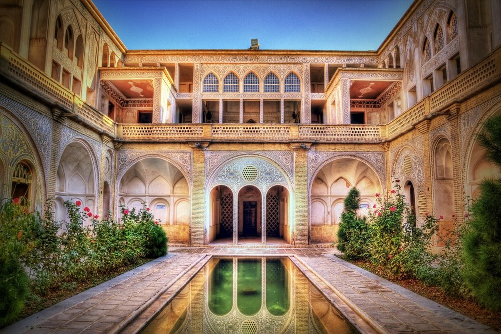 Abbasi house architectural masterpiece in Kashan