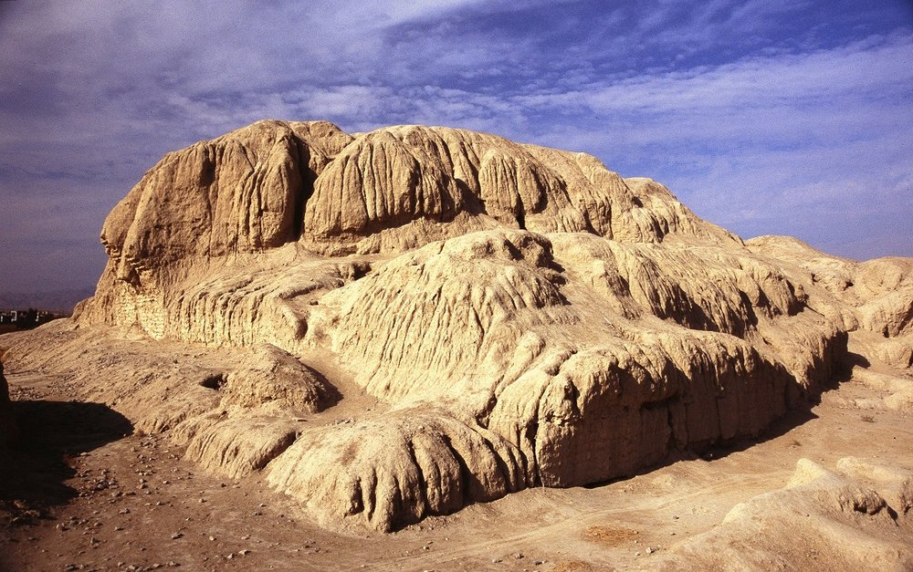 Sialk hill; ancient treasure in Kashan