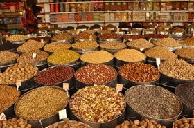 1100 tons of dried fruit, nuts exported from Isfahan