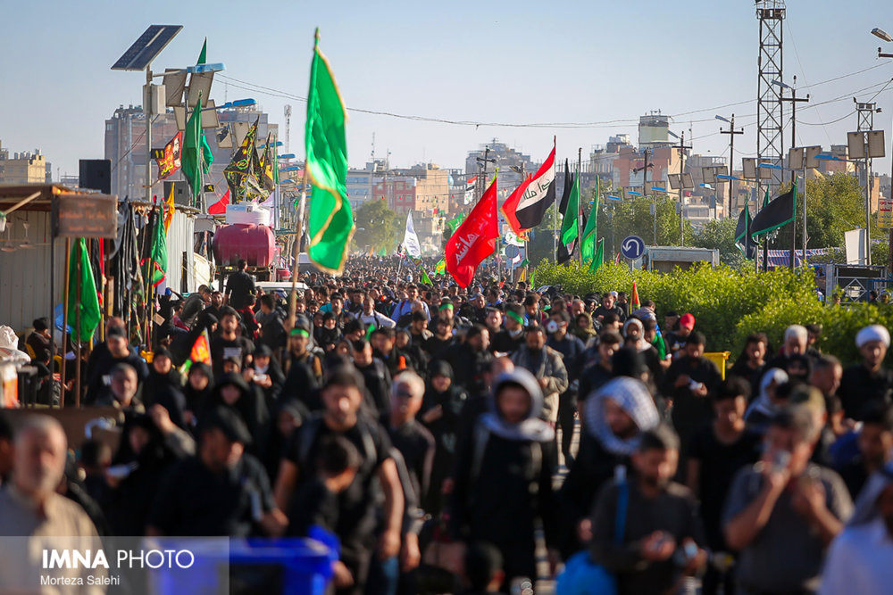 Millions of Iranian Muslims flock to Iraq to attend Arba'een