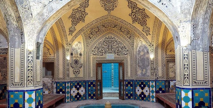 Cultural and art paths exploited in Kashan