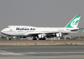 Iran refutes Germany's ban on Mahan Air